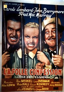 Affiche du film La folle confession