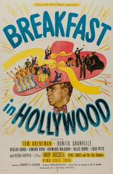 Affiche du film Breakfast in Hollywood