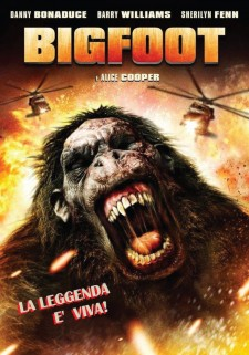 Affiche du film Bigfoot