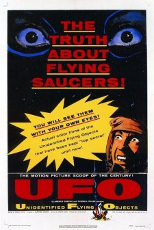 Affiche du film Unidentified Flying Objects: The True Story of Flying Saucers