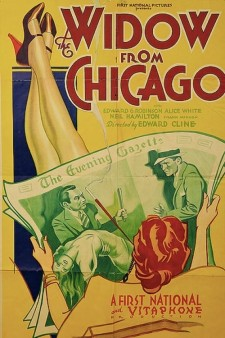 Affiche du film The Widow From Chicago