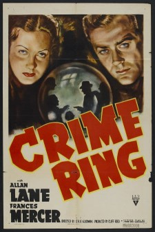 Affiche du film Crime Ring