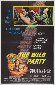 Affiche du film The Wild Party