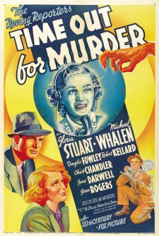 Affiche du film Time Out for Murder
