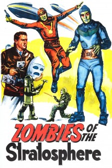 Affiche du film Zombies of the Stratosphere