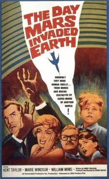 Affiche du film The Day Mars Invaded Earth