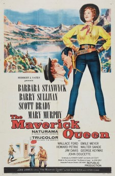 Affiche du film The Maverick Queen