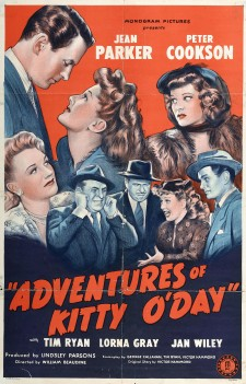 Affiche du film Adventures of Kitty O'Day