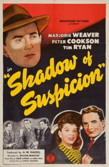 Affiche du film Shadow of Suspicion