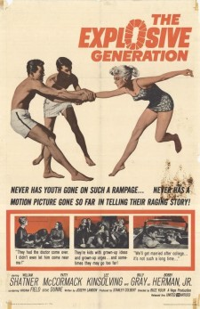 Affiche du film The Explosive Generation