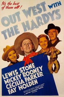 Affiche du film Out West with the Hardys