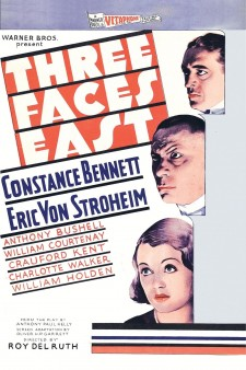Affiche du film Three Faces East