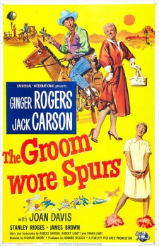 Affiche du film The Groom Wore Spurs
