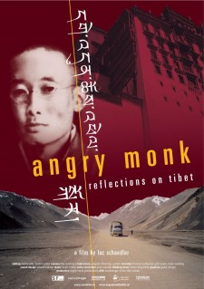 Affiche du film Angry Monk -- Reflections on Tibet