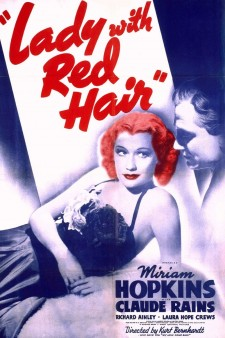 Affiche du film Dame avec Red Hair