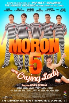 Affiche du film Moron 5 and the Crying Lady