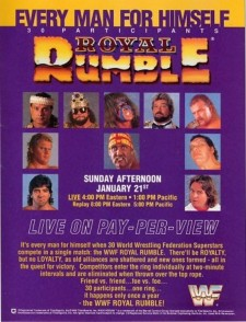 Affiche du film WWE Royal Rumble 1990