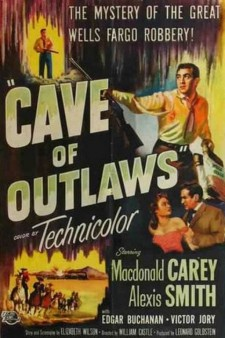 Affiche du film Cave of Outlaws