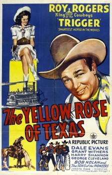 Affiche du film The Yellow Rose of Texas
