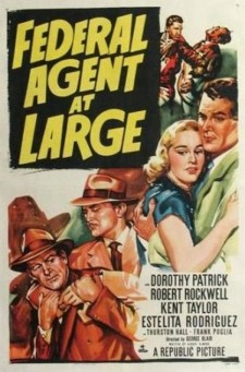Affiche du film Federal Agent At Large
