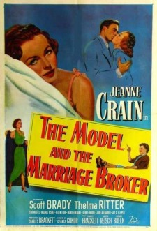 Affiche du film The Model and the Marriage Broker