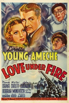 Affiche du film Love Under Fire