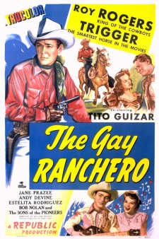 Affiche du film The Gay Ranchero