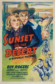 Affiche du film Sunset on the Desert