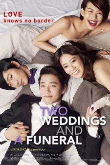 affiche du film Two Weddings and a Funeral