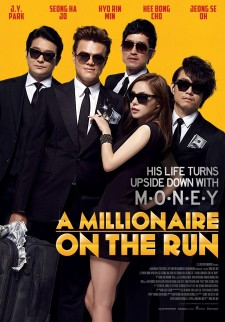 affiche du film A Millionaire on the Run