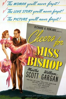 affiche du film Cheers For Miss Bishop