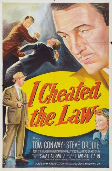 Affiche du film I Cheated the Law