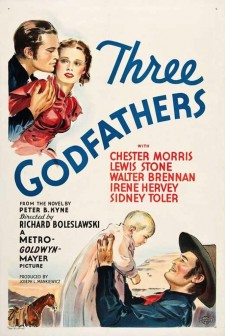 affiche du film Three Godfathers