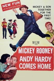 Affiche du film Andy Hardy Comes Home