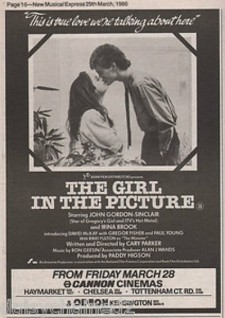 affiche du film The Girl in the Picture
