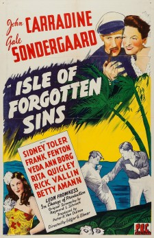 Affiche du film Isle of Forgotten Sins
