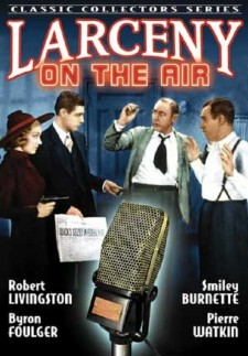 Affiche du film Larceny on the Air