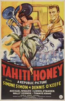 Affiche du film Tahiti Honey