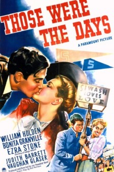 Affiche du film Those Were The Days!