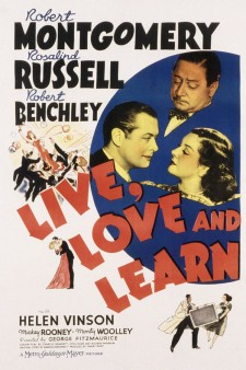 Affiche du film Live, Love and Learn