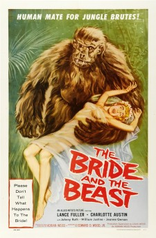 Affiche du film The Bride and the Beast