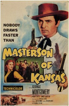 Affiche du film Masterson Of Kansas