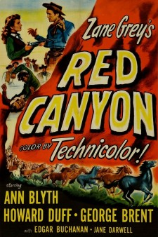 Affiche du film Red Canyon