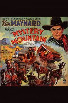 Affiche du film Mystery Mountain