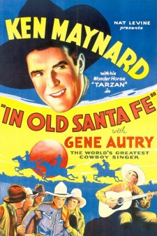 Affiche du film In Old Santa Fe