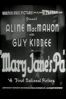 Affiche du film Mary Jane's Pa