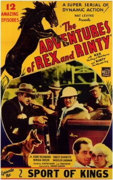Affiche du film The Adventures of Rex and Rinty