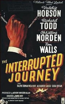 Affiche du film The Interrupted Journey