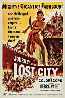 Affiche du film Journey to the Lost City