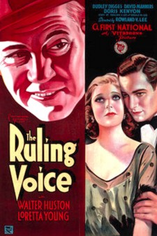 Affiche du film The Ruling Voice